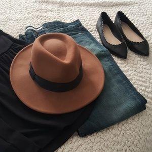 Nine West Brown Felt Hat
